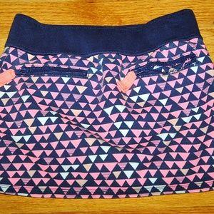 GYMBOREE POLAR PINK Navy/Pink Skirt sz 5 EUC